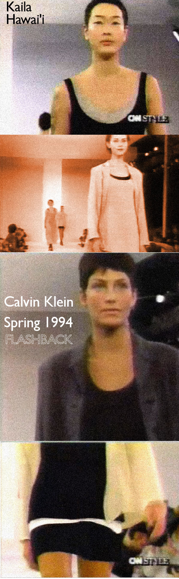 Calvin Klein Spring 1994 Collection