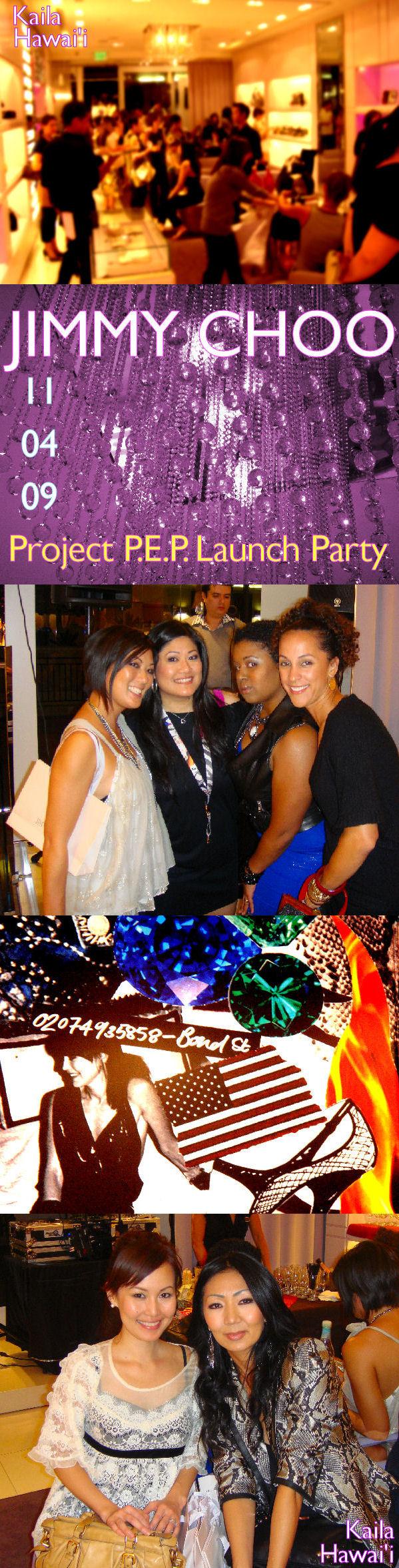 Jimmy Choo Project P.E.P Launch Party - Honolulu