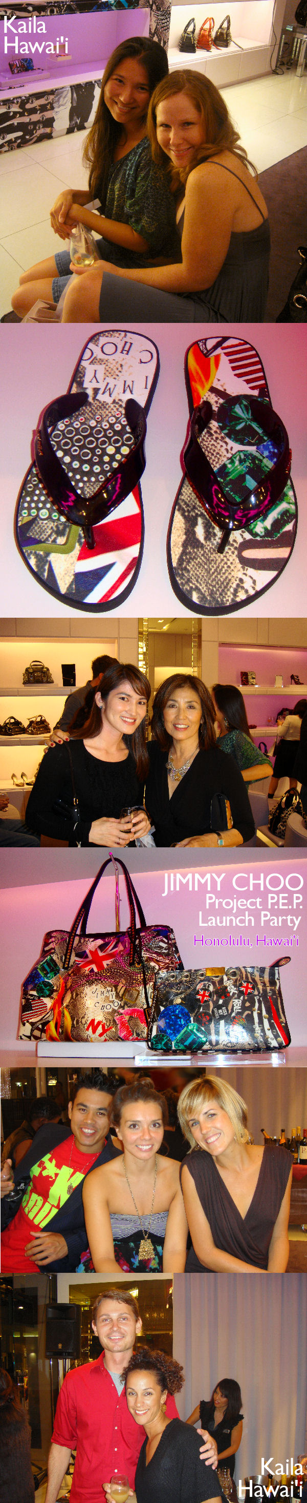 Jimmy Choo Project P.E.P. Launch Party - Honolulu