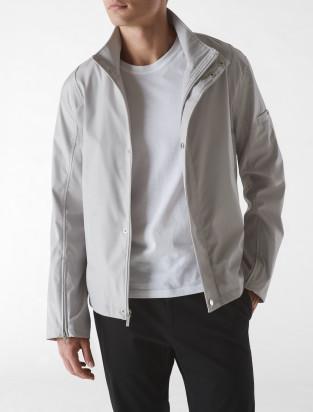 Calvin Klein bonded zip funnel jacket