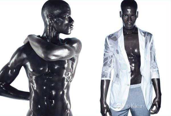 David Agbodji 2 - Calvin Klein Collction SS 2010
