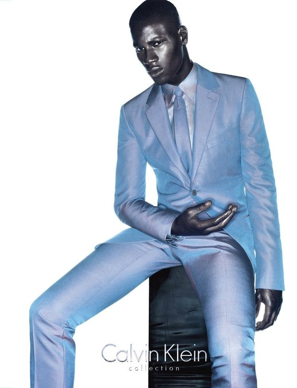 David Agbodji - Calvin Klein Collection SS 2010