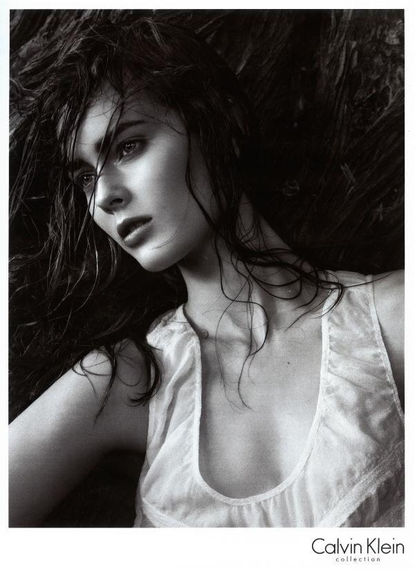 Monika Jagaciak - Calvin Klein Collection SS 2010