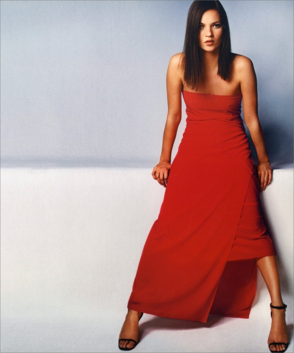 Calvin Klein Spring 1999 campaign by Mario Testino | Model: Kate Moss