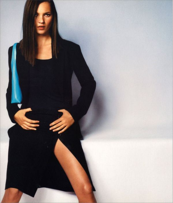 Calvin Klein Spring 1999 campaign by Mario Testino - Model: Kate Moss