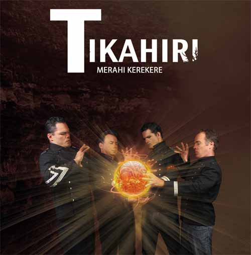 Tikahiri's new album Merahi Kerekere